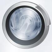 Bullauge bei einer Waschmaschine